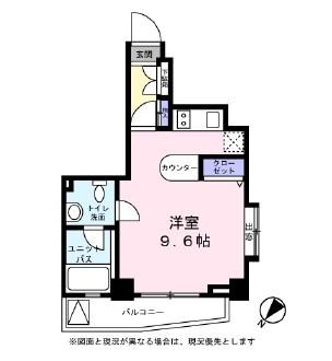 レジディア恵比寿Ⅲ601号室