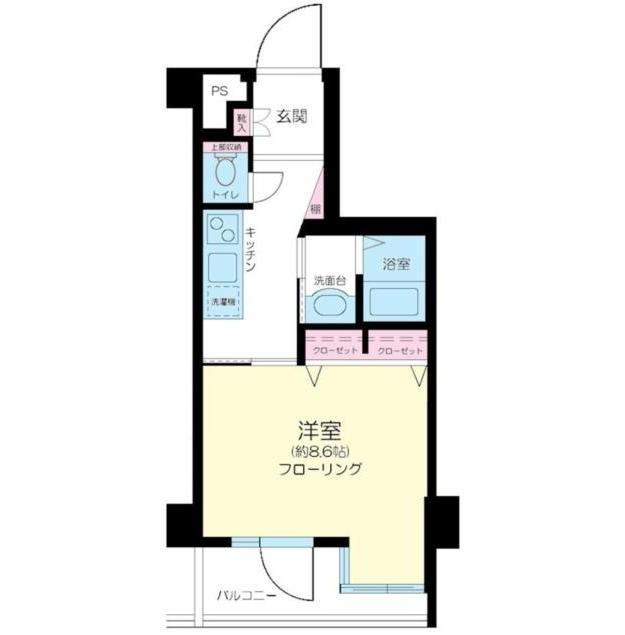 アクシア千駄ヶ谷207号室