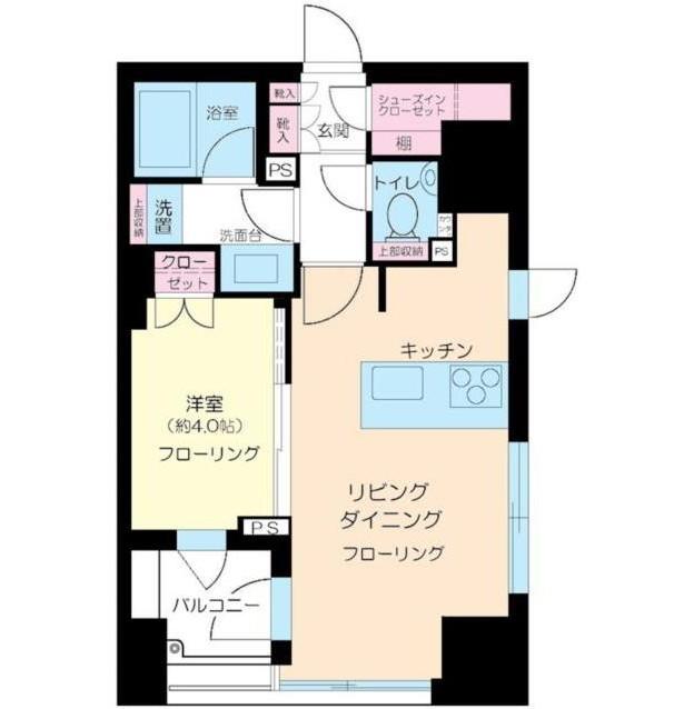 クオリア神南フラッツ11F号室