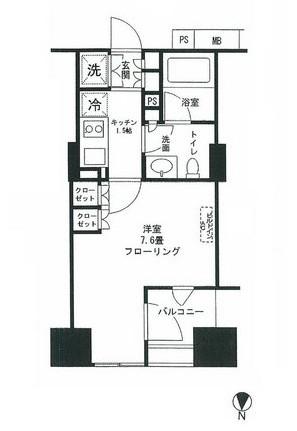 クオリア神南フラッツ1307号室