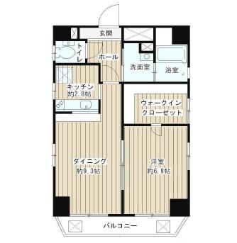 グランドゥ渋谷601号室