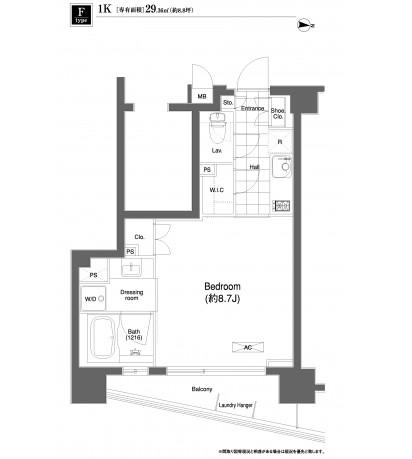 プライムアーバン目黒大橋ヒルズ711号室