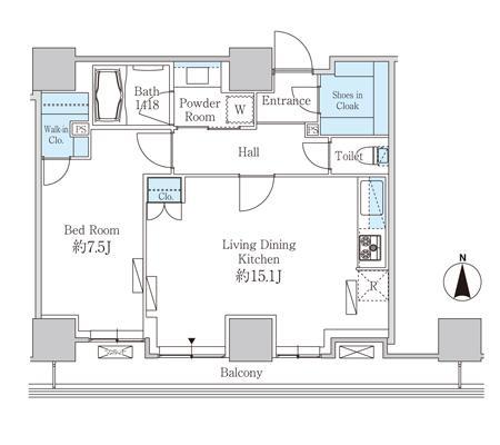 ベルファース芝浦タワー1604号室