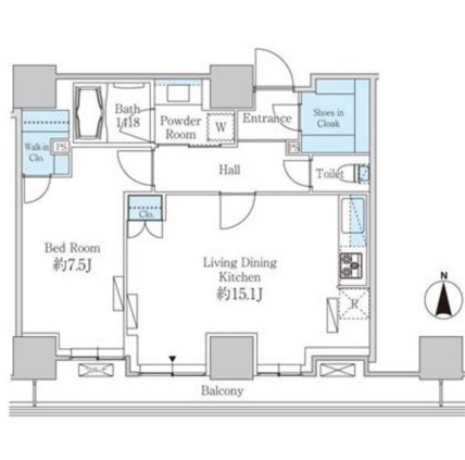 ベルファース芝浦タワー1904号室