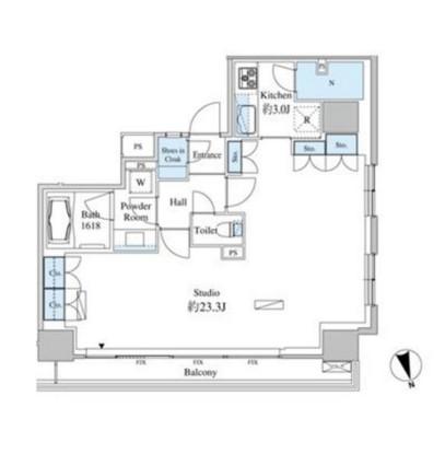 ベルファース芝浦タワー2702号室