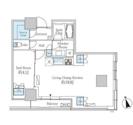 ベルファース芝浦タワー2805号室