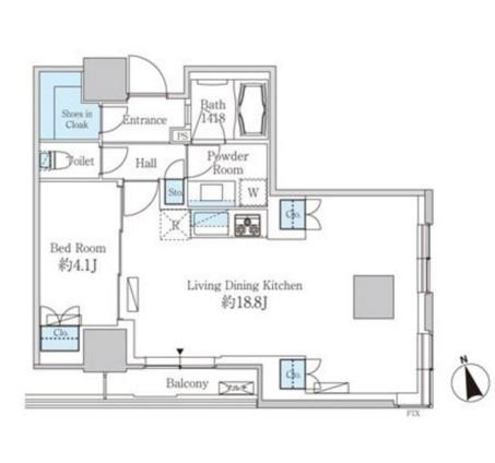 ベルファース芝浦タワー2905号室