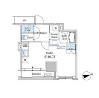 ベルファース芝浦タワー607号室