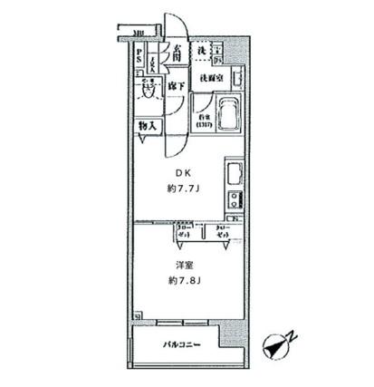 クリオ五反田1202号室
