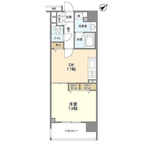 クリオ五反田1502号室