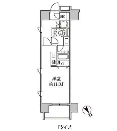 クリオ五反田204号室