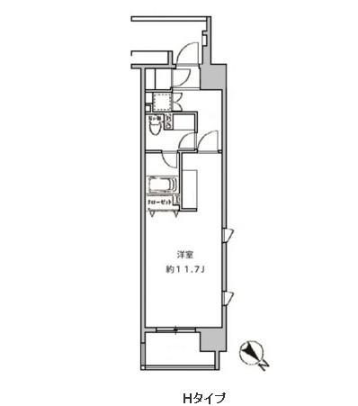 クリオ五反田206号室