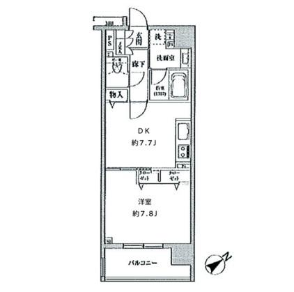 クリオ五反田602号室