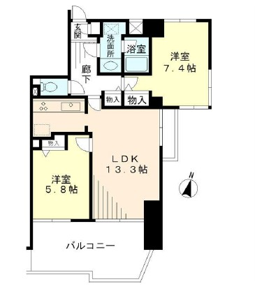 KDXレジデンス二子玉川1002号室