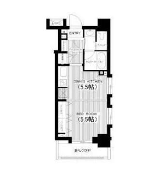 ライオンズマンション西麻布シティ204号室