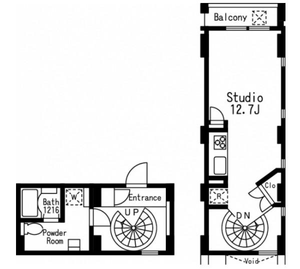 プライムアーバン目黒三田105号室