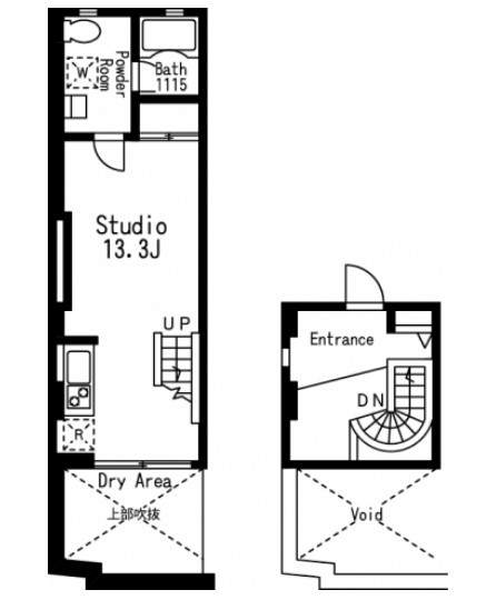 プライムアーバン目黒三田117号室
