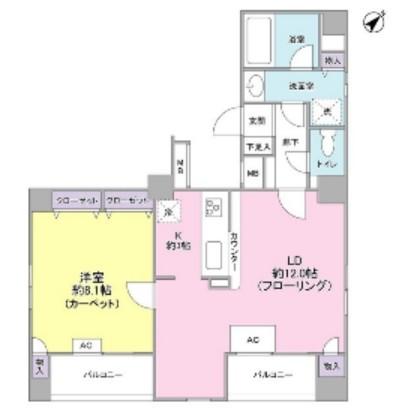 ダイアパレス赤坂401号室