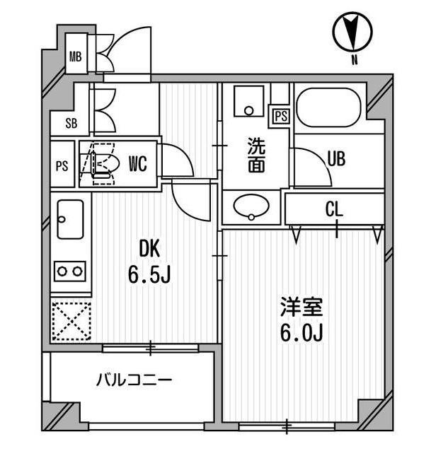 クリオ三田ラ・モード207号室