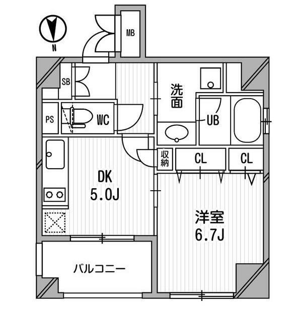 クリオ三田ラ・モード209号室