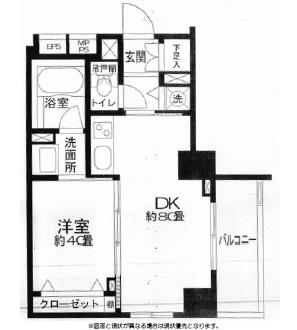 クリオ三田ラ・モード304号室
