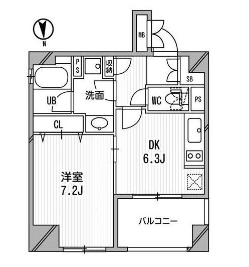 クリオ三田ラ・モード306号室