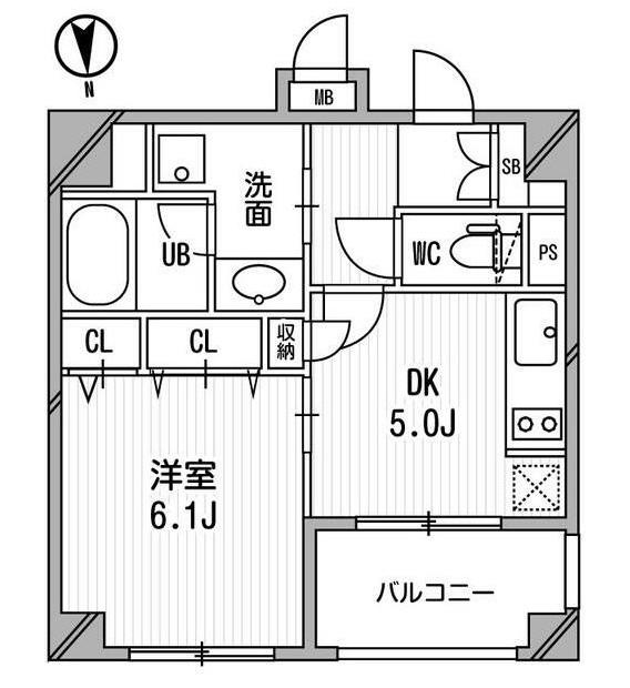 クリオ三田ラ・モード308号室