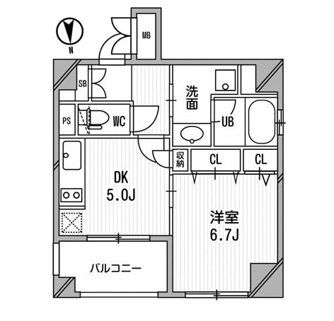 クリオ三田ラ・モード609号室