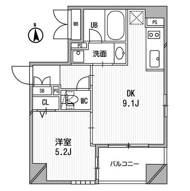 クリオ三田ラ・モード705号室