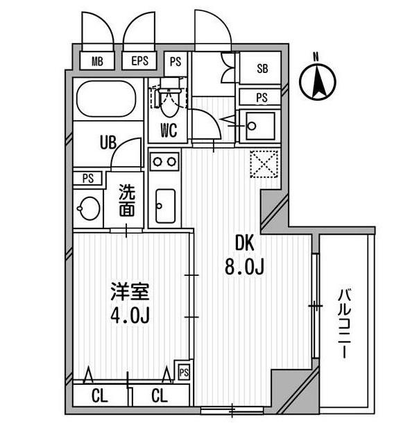 クリオ三田ラ・モード904号室