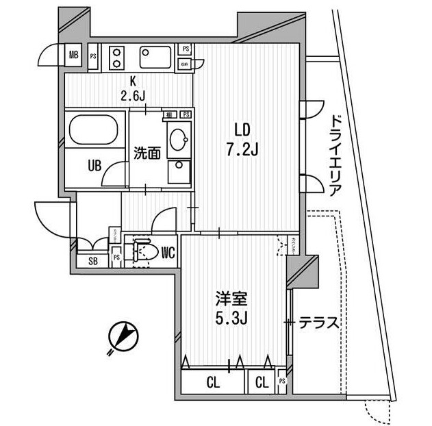 クリオ渋谷ラ・モード101号室