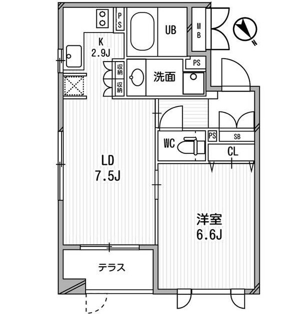 クリオ渋谷ラ・モード104号室