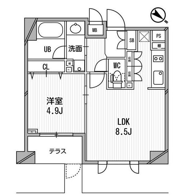 クリオ渋谷ラ・モード106号室