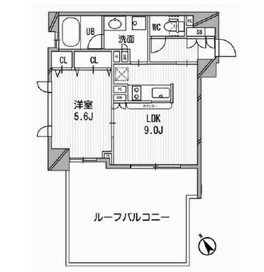 クリオ渋谷ラ・モード201号室