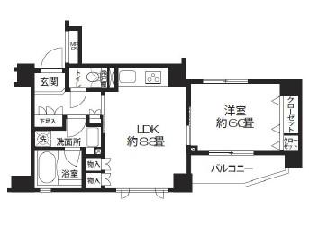 クリオ渋谷ラ・モード205号室