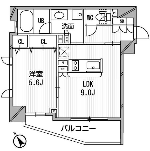 クリオ渋谷ラ・モード301号室