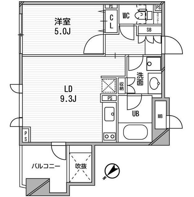 クリオ渋谷ラ・モード409号室