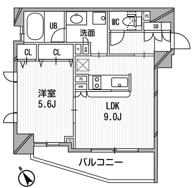 クリオ渋谷ラ・モード501号室