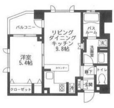 クリオ渋谷ラ・モード510号室