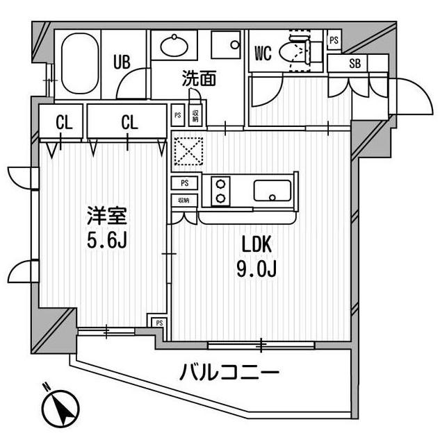 クリオ渋谷ラ・モード601号室