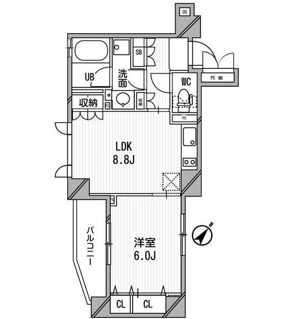 クリオ渋谷ラ・モード605号室