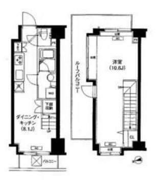 クローバー御成門レジデンス1403号室