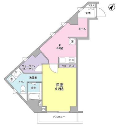 クローバー六本木404号室