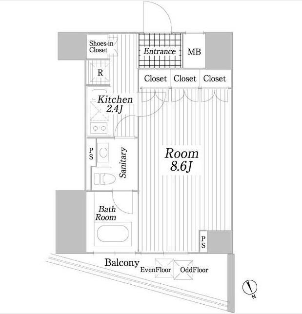 コートヒルズ広尾南605号室
