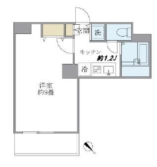 サンテラス赤坂801号室