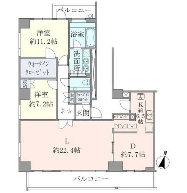 ジェントルエア神宮前2201号室
