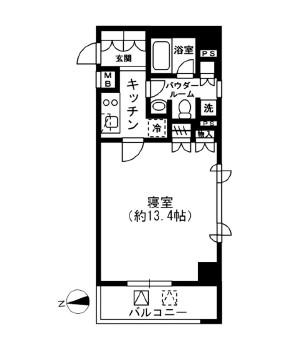 レジディア四谷三丁目306号室