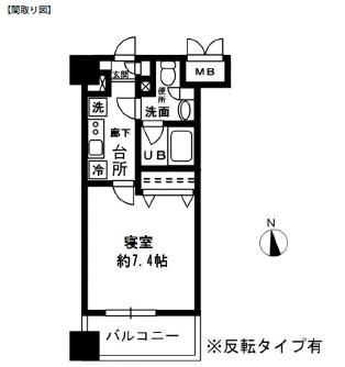 レジディア四谷三丁目309号室