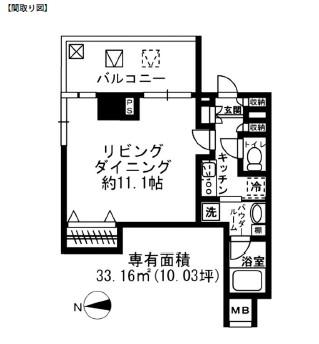 レジディア四谷三丁目415号室