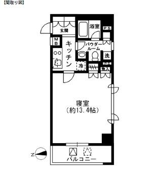レジディア四谷三丁目506号室